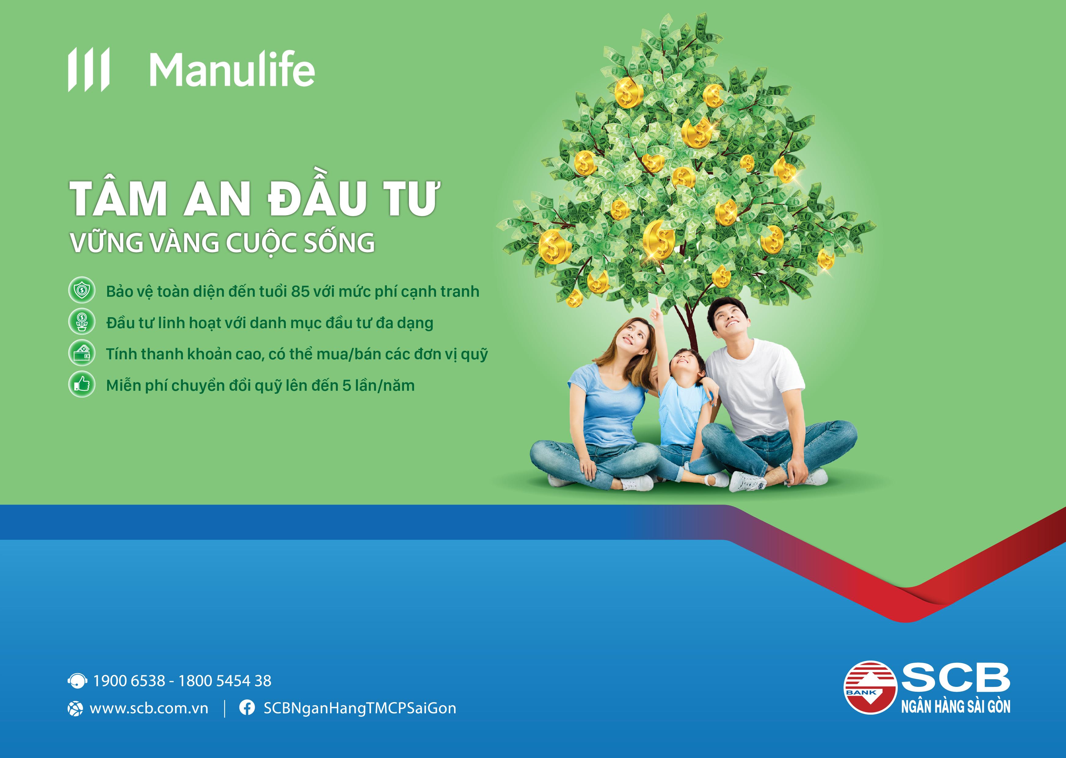 Cùng Manulife Việt Nam và SCB hoạch định tương lai tài chính  - Ảnh 1
